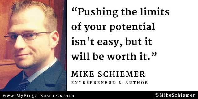 Mike Schiemer Michael James Schiemer quotes bootstrap business blog