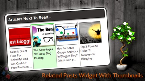 Blogger Related post with thumbnails