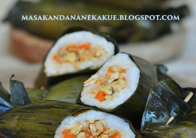 resep arem arem, resep arem arem spesial isi ayam tempe, masakandananekakue.blogspot.com, masakandananekakue