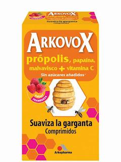 arkovox-comprimidos-frambuesa