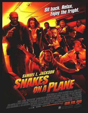 Snakes on a Plane 2006 Hindi Dual Audio 450MB BRRip 720p ESubs HEVC