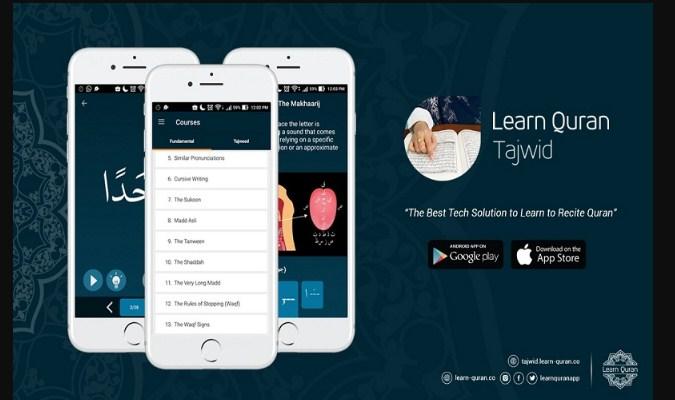 Aplikasi Belajar Baca Al-Qur'an - Learn Quran Tajwid