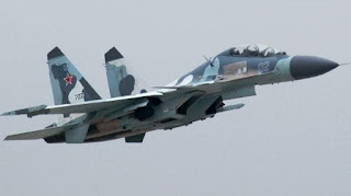 Su-35 fighter jets