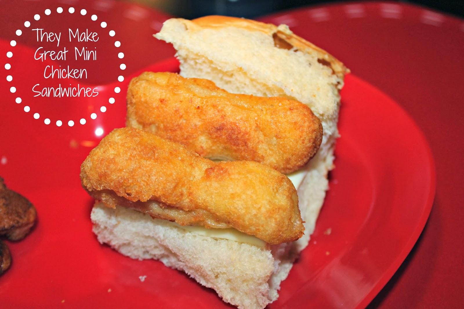 #ad Mini Chicken Tender Sliders