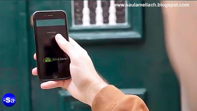 """""""SinLlave"""": Con solo una App móvil, podrás abrir puertas a distancia"""