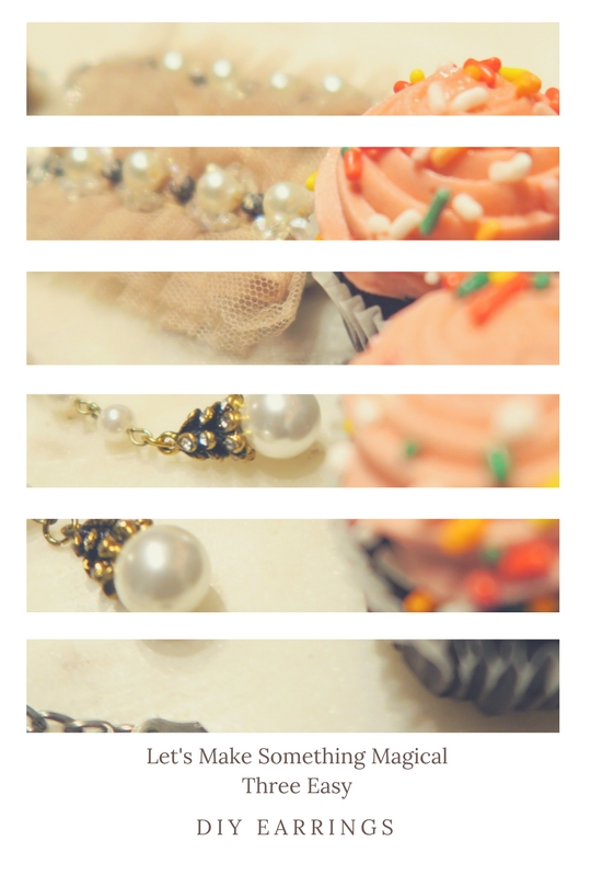 image:  3 easy DIY Statement Earrings