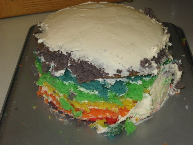 These Are A Few Of My Favorite Things Rainbow Cake Fail