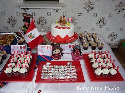 mesa dulce peruana