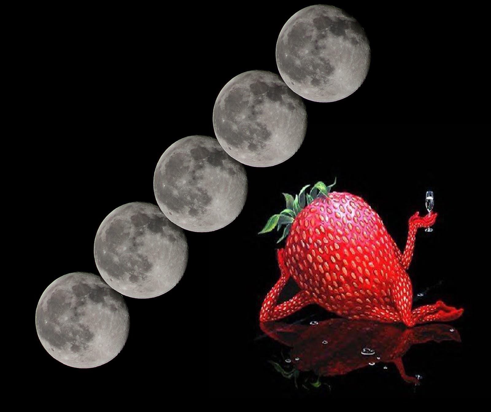 strawberry moon - HD1600×1343
