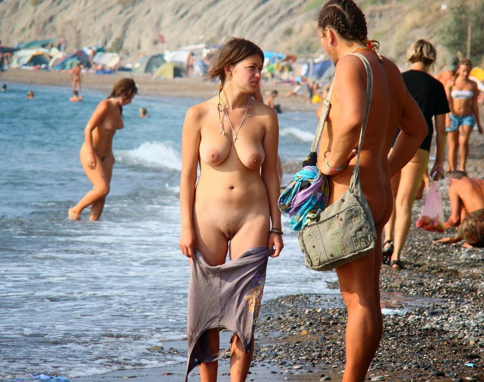 Nude Beach Bia Pic