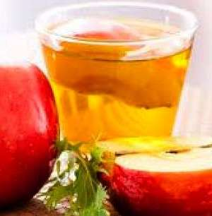 Gargle with Apple cider vinegar to lighten teeth.