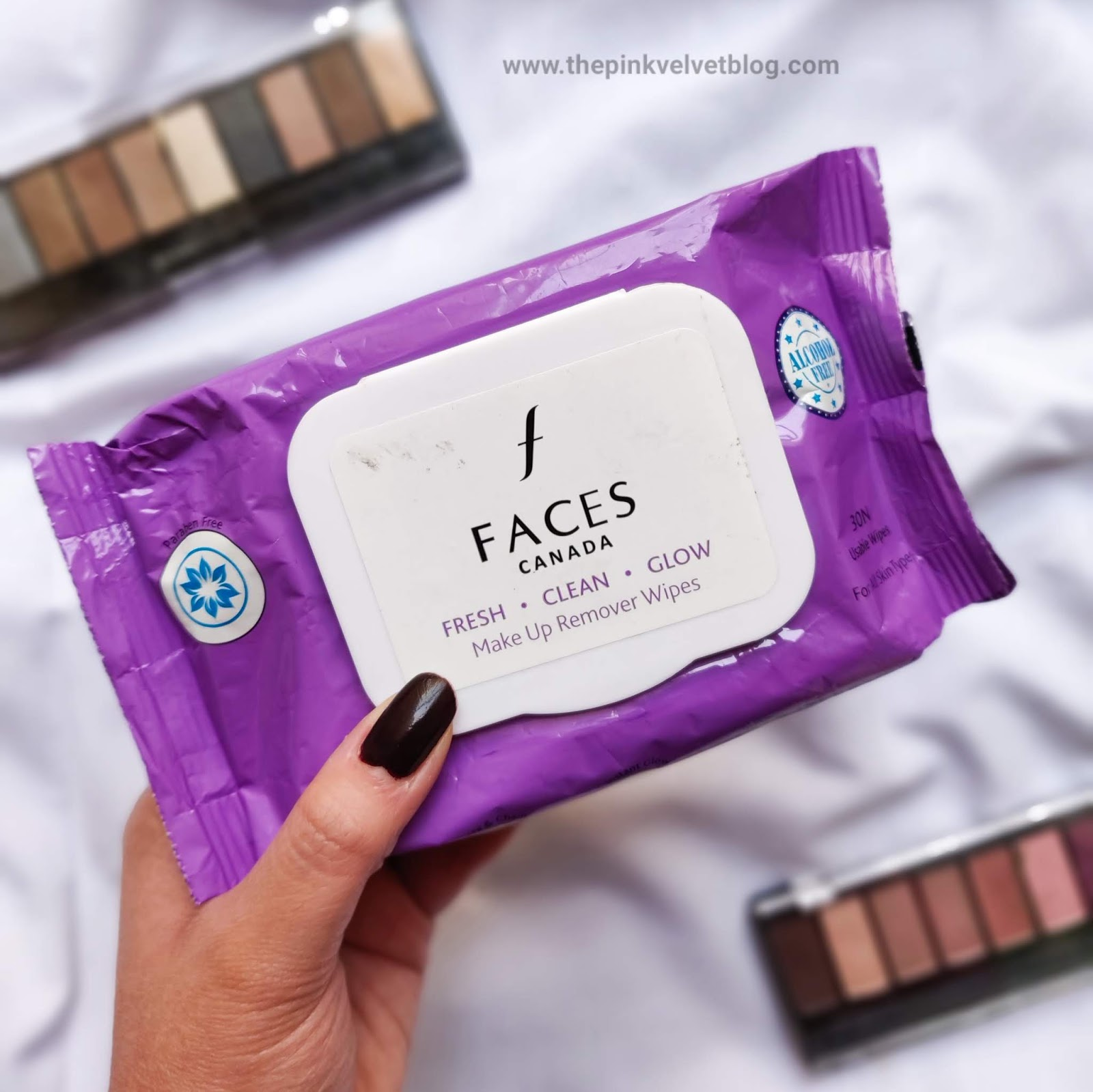 FACES Canada Paraben-Free and Alcohol-Free Makeup Remover Wipes - Review