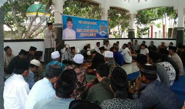 Gelar Silaturrahmi, Senator Asal NTB Ingatkan Kebijaksanaan Bermedsos