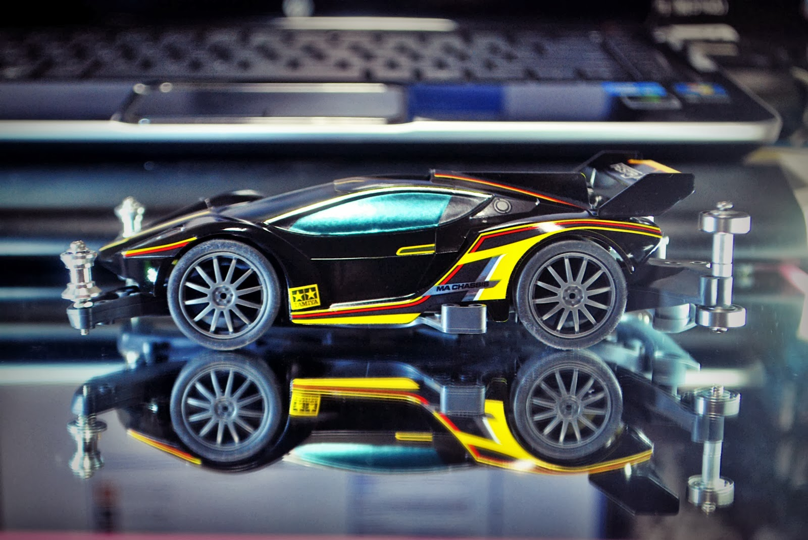 my ceritera: Tamiya Mini 4WD project.. FESTA JAUNE