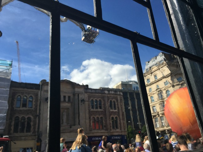 City-Of-The-Unexpected-Cardiff-Celebrates-Roald-Dahl-crowds-through-the-pub-window