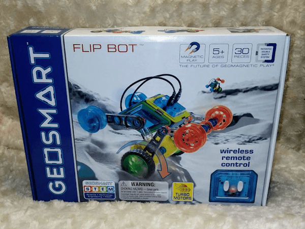 Flip Bot from GeoSmart Is An Awesome Gift For 5+