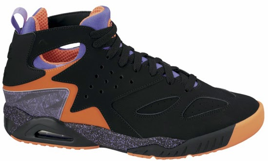 promo code c3a22 b0164 01 11 2014 Nike Air Tech Challenge Huarache 630957-002 Black Atomic Orange -Volt-Court Purple  130.00