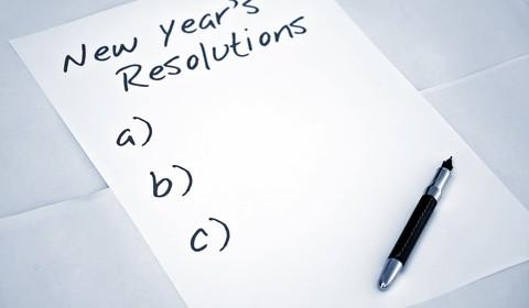 обіцянки собі на новий рік, щоб зробити життя кращим.