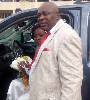 nigerian couple marries 27 years after
