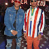 Neymar and Lewis Hamilton display their dandy fashion style at Tommy Hilfiger's SS18 show in London