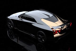 Nissan GT-R50 by Italdesign (2018) Rear Side