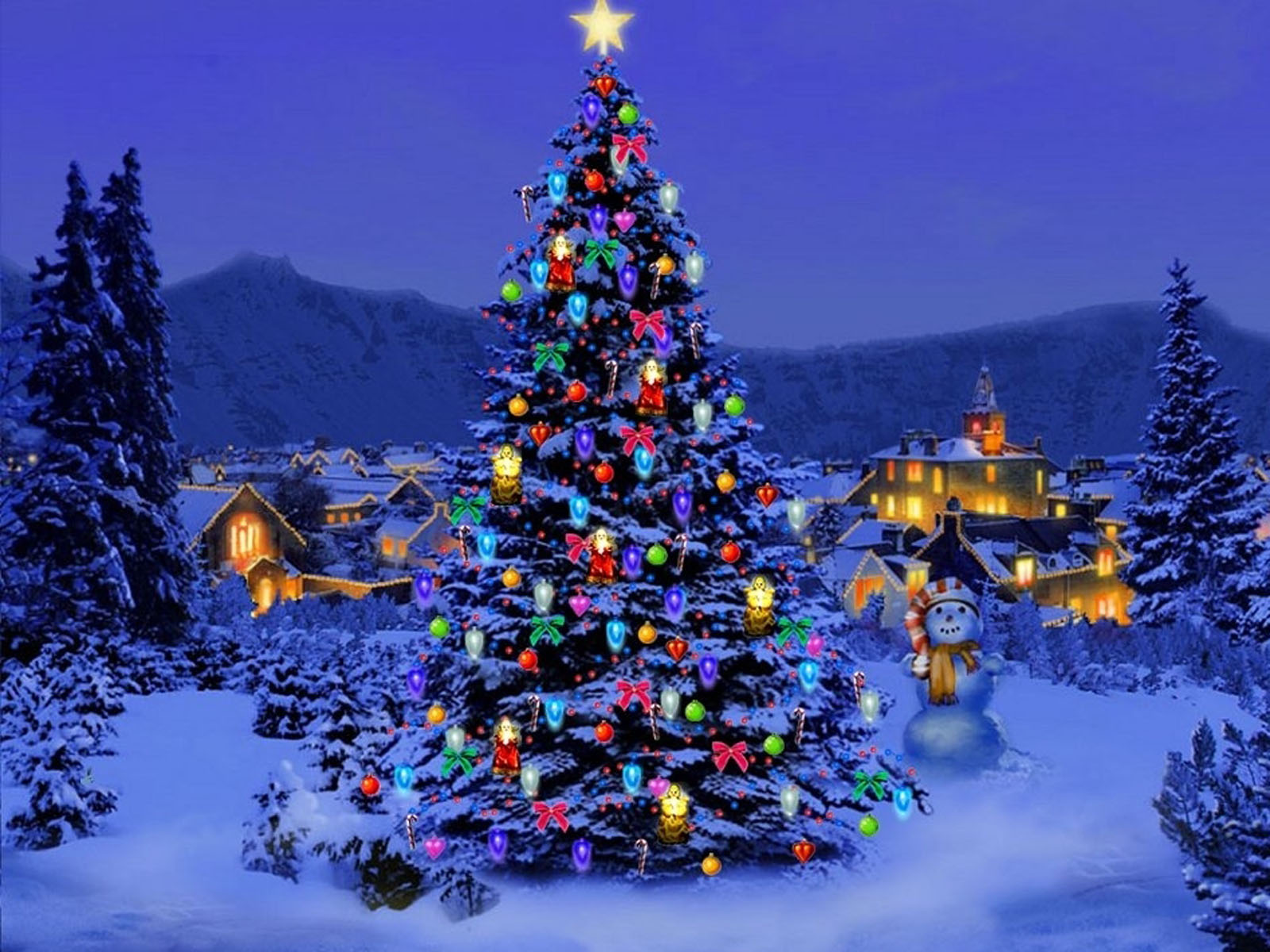 Wallpapers: Christmas Trees Wallpapers