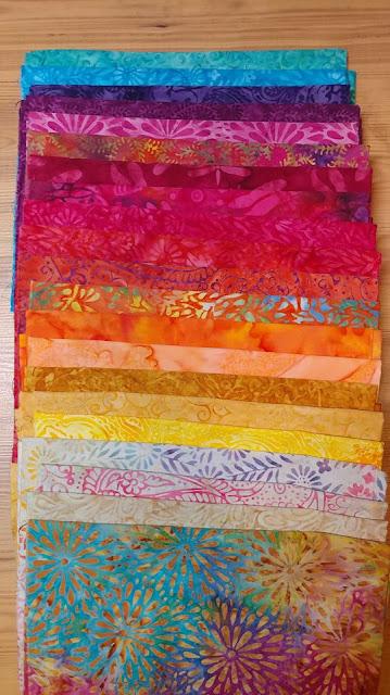 Island Batik Boho fabrics