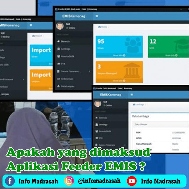 Apakah yang dimaksud Aplikasi Feeder EMIS?