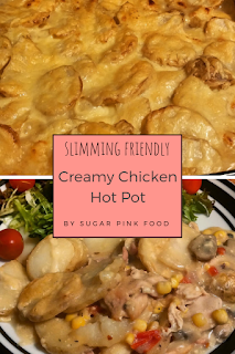 Creamy Chicken Hot Pot recipe slimming world