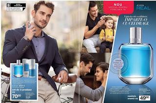 CATALOG AVON 17 ianuarie - 6 februarie 2019 Deodorant spray Avon Real pentru El