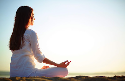 stress-free can be avoided by doing yoga which reduce lower pressure