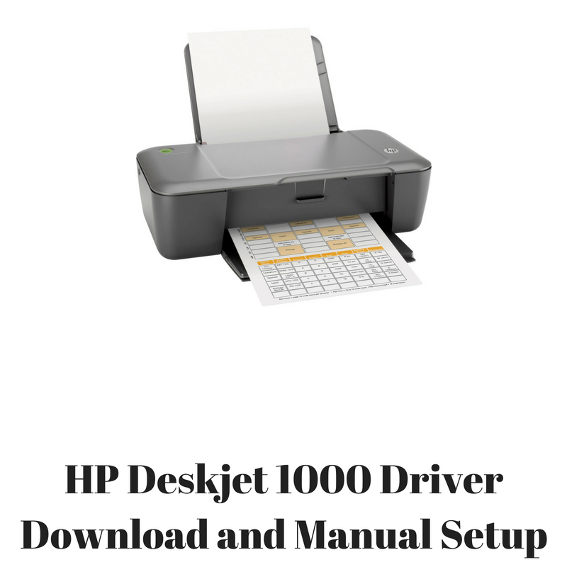Hp deskjet 1000 printer j110a driver download.