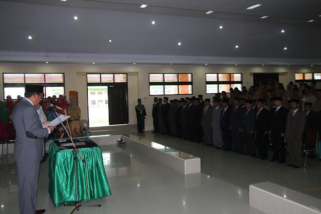 735 Pejabat Struktural Aceh Tengah Dilantik