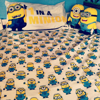 Minion Bedlinen from Tesco - Cute huh?