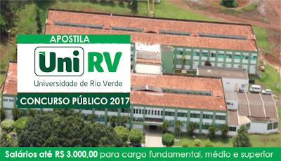 Apostila Universidade de Rio Verde Auxiliar de Laboratório - UniRV.