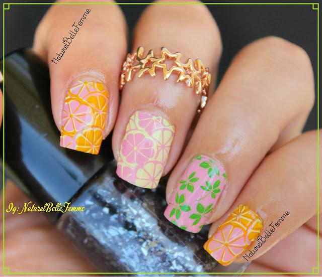 Fruity manicure