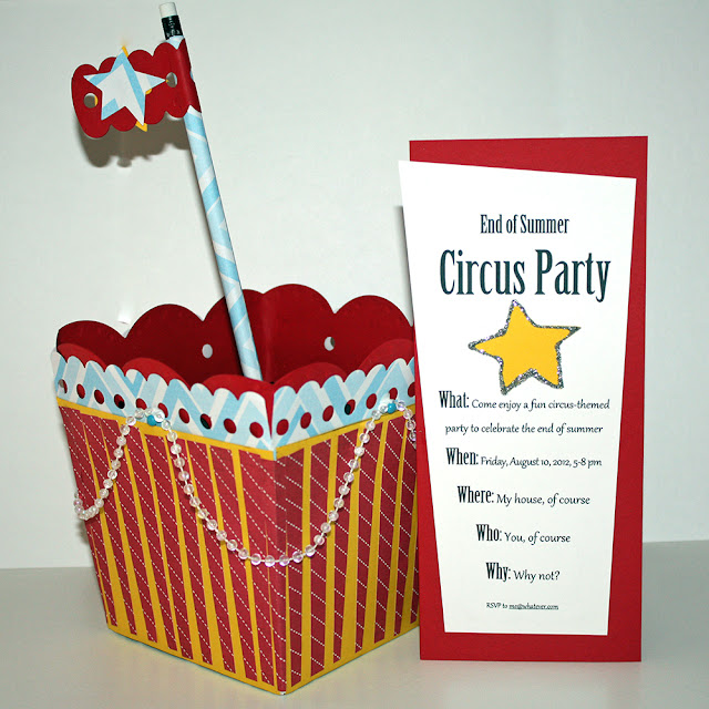 End of Summer Circus Party
