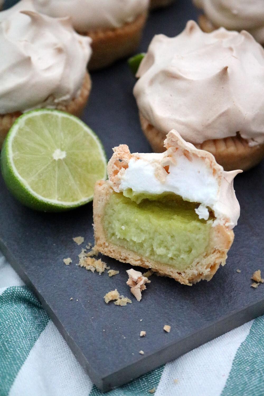 Mini Lime Meringue Pies   Bake Off Bake Along   Take Some Whisks