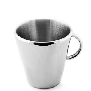 TOOLBAR Double Wall Stainless Steel Insulated Coffee Mug / Tea Cup