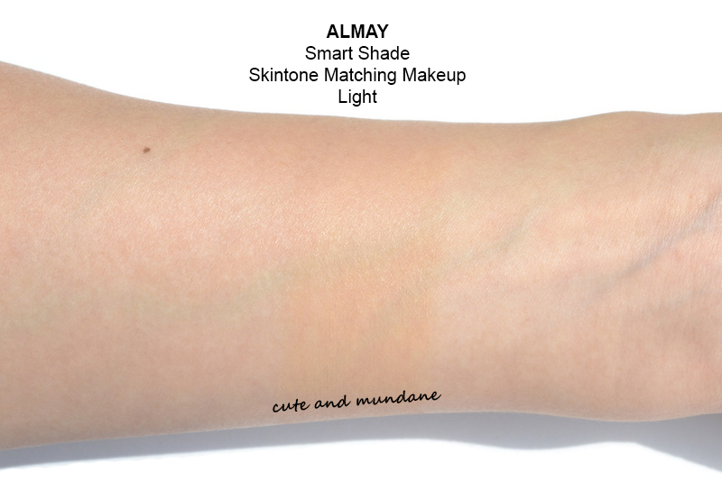 Almay smart shade skintone matching makeup