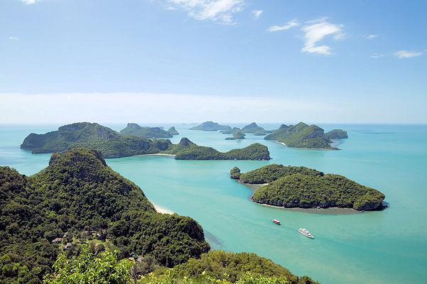 Ang Thong Marine Nationalpark Samui