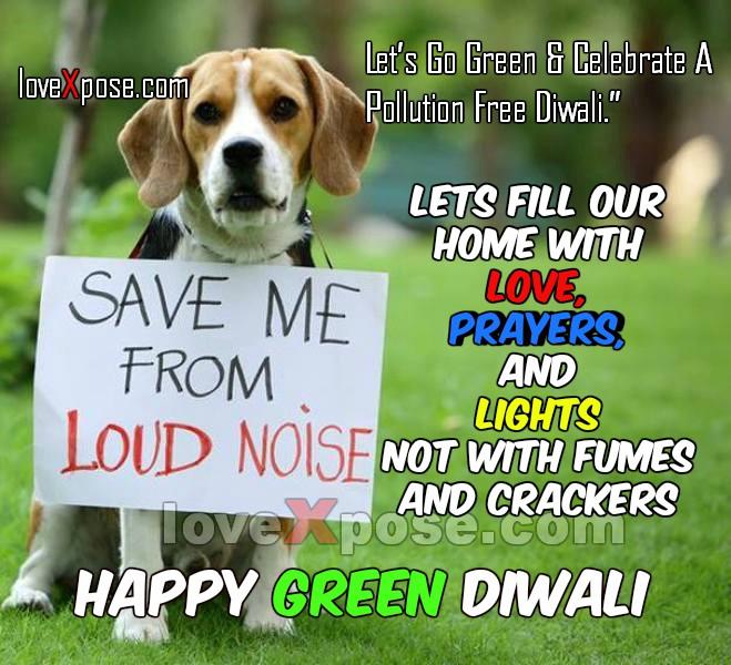Eco Friendly Green Diwali Quotes Slogan