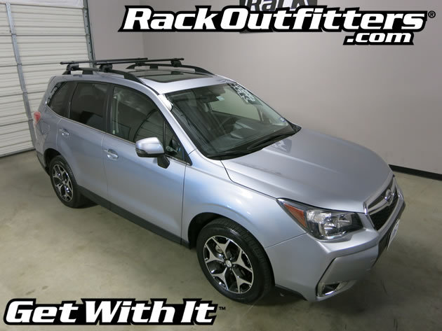 This Complete Multi Purpose Base Roof Rack Is For The 2014 2016 Subaru  Forester With Raised Side Rails. Raised Rails Are Factory Installed Roof  Attachments ...