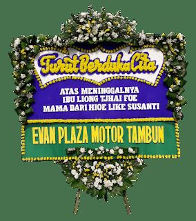 toko karangan bunga duka cita di jakarta