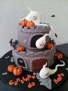 Pasteles, Decorativos, Halloween