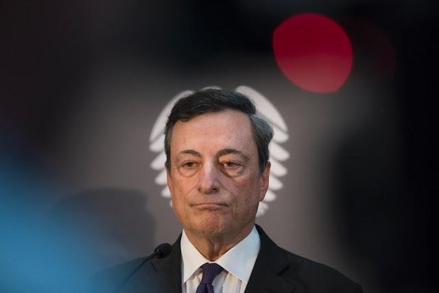 Μάριο Ντράγκι: Δεν φταίει η ΕΚΤ για τα προβλήματα των γερμανικών τραπεζών