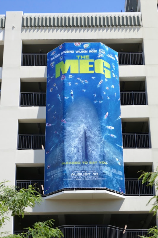 Meg film billboard Grove