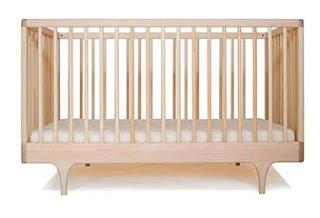tempat tidur bayi kayu mahoni