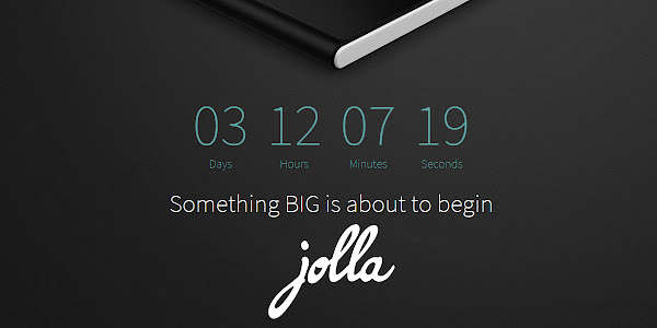 "Jolla has ""something big"" planned for next week"