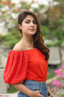 Rhea Chakraborty in Red Crop Top and Denim Shorts Spicy Pics ~  Exclusive 133.JPG